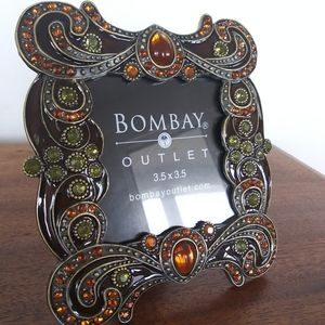 Boho Jewelled Enamel Photo Frame